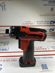 Snap On 1/4 14.4v Cordless Screwdriver W Battery Cts761a New