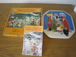 Discontinued Arabia Arabian Moomin Plate Octagonal With Box Limited Editions 1/6
