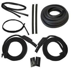 1964 Ford Falcon Futura And Mercury Comet 2dr Hardtop Body Weatherstrip Seal Kit