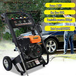 Gas Petrol Engine Pressure Washer 5 Quick Connect Spray Tips For Cleaning Homes