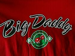 Dead Stock With Tags Vintage Big Daddy Player Dice Bd Gear T Shirt Size 4xl