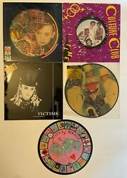 Culture Club Picture Disc Imports And More - Colour By Numbers Time Victim Etc