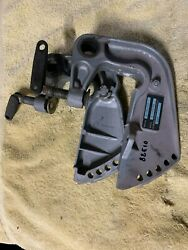1988 Evinrude 10 Hp Outboard Motor Transom Brackets W/hole For Steering Tube