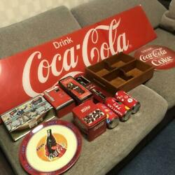 Super Rare Cocacola Not For Sale Summary Set Coke Bottle Opener Round Signboar