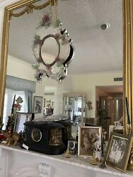 Antique 19th Cent Venetian Mirror Listed In Andldquo Encyclopedia Of Antiquesandrdquo Scroled