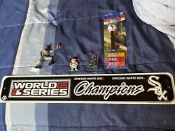Chicago White Sox Memorabilia Collection Mlb Starting Lineup Banner Lil Sports