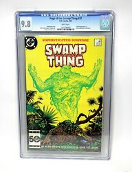 Saga Of The Swamp Thing 37 Cgc 9.8 First Appearance Of John Constantine