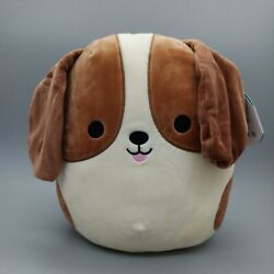 Tyree Beagle Dog Squishmallows 10quot; Kellytoy Plush Squishi New With Tag