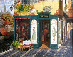 Viktor Shvaiko Restaurant La Ruche Castle By The Water Le Canvas Offers Welcome