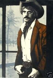 RORY WAGNER RARE HAND SIGNED LITHOGRAPH ROBERT REDFORD