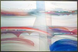 Daniel Lencioni Abstract Ah104 Signed Original Acrylic Art Painting Submit Offer