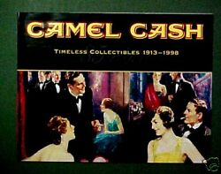 1998 Camel Cash Timeless32 Page Booklettobacciana Collectibles Catalog