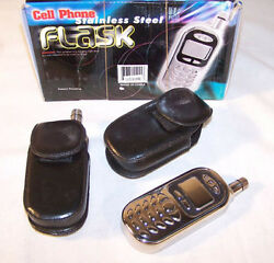6 Cell Phone Flask Drinking Stash Liquor Phones Container Novelty Gift Flasks