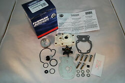 New Johnson Evinrude Oem Outboard Water Pump And Impeller Kit 393630 Brp W Housing