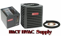 1-12 Ton 13 Seer Central Air AC Add On - GSX130181 + Evaporator Coil + Line Set