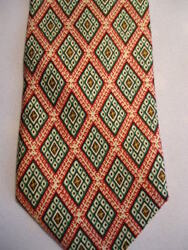 Talbott Shop For At-ease Tie Red Green Diamonds 56 N