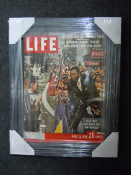 1958 Life Magazine Of Willie Mays Autograph Coa By J.spence Authentication