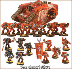 pro painted blood angel basic army 1