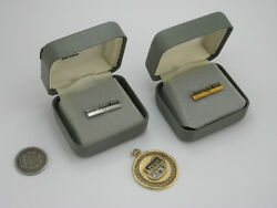 Vintage Solid 10k Gold And Sterling Silver And 14k Gf Montgomery Ward Pins And Pendant