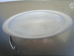 12.5 Inch Double Bulb Interior Light 12 Volt Without Switch White Nos