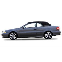Volvo C70 Convertible Sof Top Replacement And Glass Window 1999-06 Black Stayfast