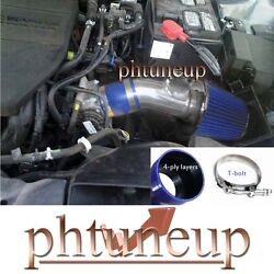 Fit Mazda 6 2.5 2.5l Dohc L4 2009-2012 Blue Air Intake Kit Induction Systems