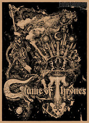 Sdcc 2012 Exclusive Game Of Thrones Print By Vania Zouravliov Numbered Mondo
