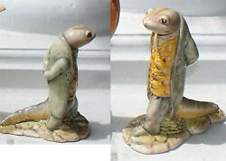 Beatrix Potters Sir Isaac Newton Pottery Figure 1973 Stamp