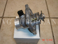 Bmw E39 5-series,e38 7-series Genuine Cooling Thermostat W/housing And Gasket New