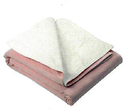 1 Reusable Washable Underpad 36 X 52, Cotton Face, Heavyweight Soaker, Bedpad