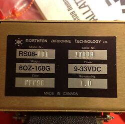 Gps /data Transfer Switch P/n Rs08-001 S/n 17108