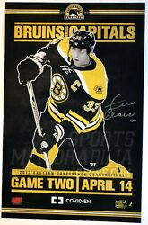 Zdeno Chara Boston Bruins Signed 2012 Eastern Conference Game Day Poster 11x17