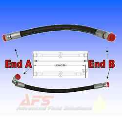 1/2 Inch Id 2 Wire Hydraulic Hose Assembly Fitted With Bsp Hose Tail Inserts 2sc