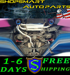 SRS TYPE-RE CATBACK EXHAUST FOR WITH Y-PIPE G35 INFINITY 03-07 2 DOOR BURNED