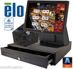 Aldelo Pro Elo Cafe Buffet Restaurant All-in-one Complete Pos System New