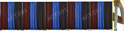 10 Ft High X 50 Ft Wide Pipe And Drape Kit With Premium Drapes - Pipe And Drape