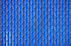 Blue Privacy Slats  6'H - 50 Bags Covers 500 Linear Feet