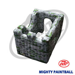 Mighty Paintball Air Bunker Inflatable Bunker - Square Shape Mp-sb-wp13