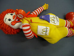 Vintage 1978 Rare Hard To Find Ronald Mc Donald Character 20 Long - N/r