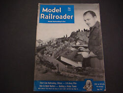 The Model Railroader Magazine , May 1951, Shortline, Lift-away, Reefers, Tower