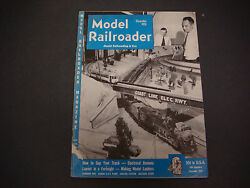 The Model Railroader Magazine , December 1951, Gap Your Track,electrical Deamons