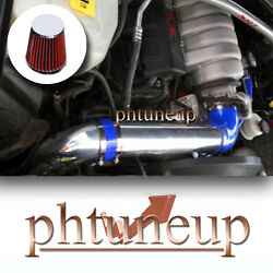 Blue Red 2005-2010 Jeep Grand Cherokee 5.7 5.7l 6.1 6.1l Cold Air Intake Kit