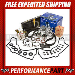 Timing Belt Kit Tensioner Valve Cover Water Pump W/o Pipe 96-04 Toyota 3.4 5vzfe