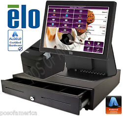 Aldelo Pro Elo Coffee Shop Restaurant All-in-one Complete Pos System New