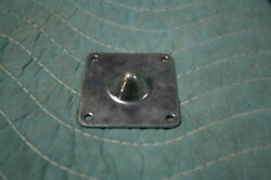 Custom Case Hardware Male Stacking Foot Zinc 4 hole 2 1 2quot; x 2 1 2quot;
