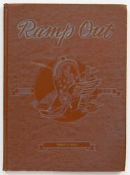 Usaf Reese Air Force Base 3500th Pilot Training Wing 1951 Yearbook Ramp Out