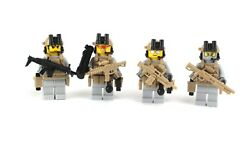 Us Army Rangers Special Forces Soldiers Made W/ Lego® Minifigures