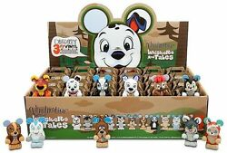 Retired Disney 3 Vinylmation Whiskers And Tales Series Tray Of 24 W Chaser