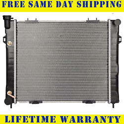 Radiator For 1993-1997 Jeep Grand Cherokee Grand Wagoneer 5.2l Free Shipping