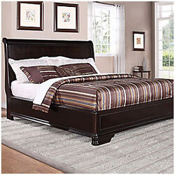Classic King Size Bed Frame And Headboard